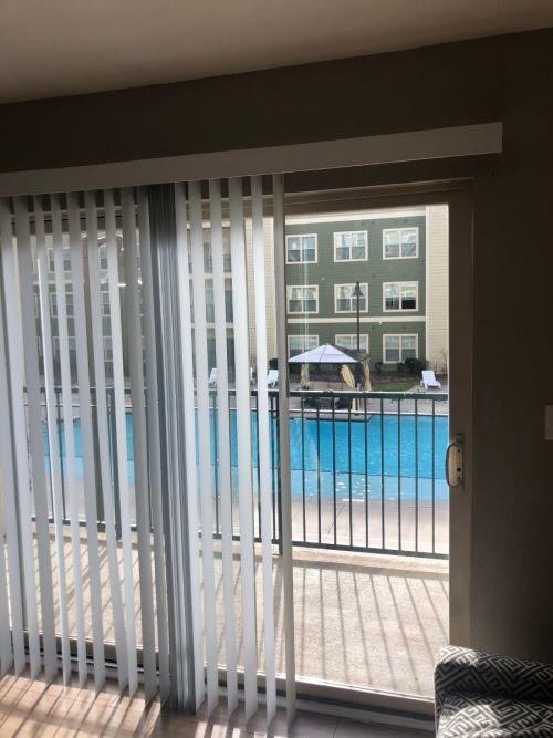 window and pool