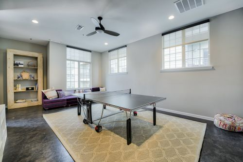 Game Room with Billiards