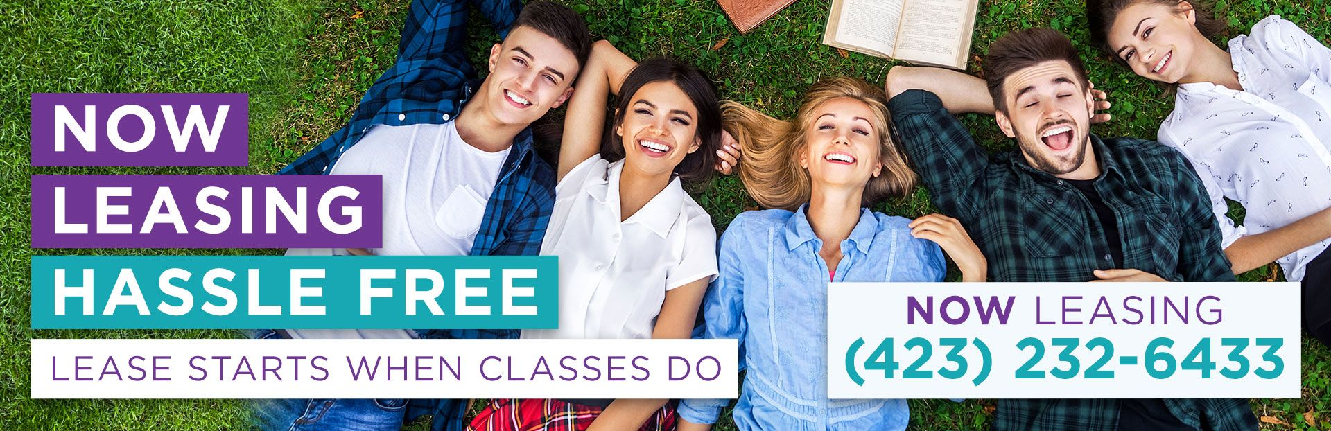 Now Leasing Hassle Free | Lease Starts When Classes Do